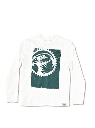 Carrera Jeans Camiseta Bambino M/L Girocollo (Blanco)