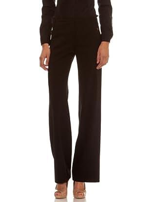 Trussardi Pantalón Bota Ancha Y Recta (negro)