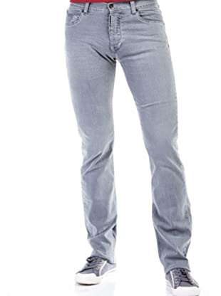 Cortefiel Pantalón Low Stretch (Gris)