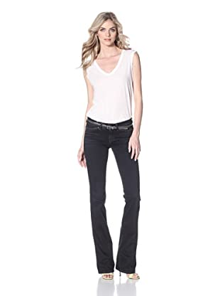 Notify Women's Anemone Bootcut Jean (Blue Blacked)