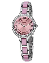 Kimio Sheen Analog Pink Dial Women's Watch - KW506S-SP04