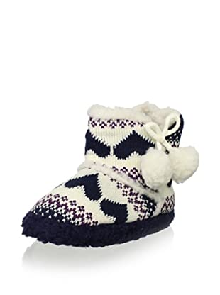 Gioseppo Kid's Parana Slipper Boot (Navy)