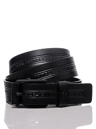 MOMODESIGN Cinturón Taormina (Negro)