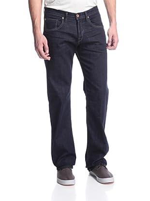 Earnest Sewn Men's Dexter Straight Leg Zip (Maz Dark)