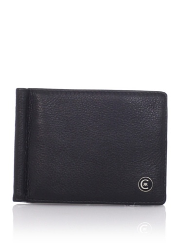Cerruti Men's Madison Wallet with Clip, Nero