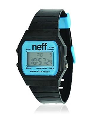 Neff Reloj de cuarzo Flava Negro / Azul 35  mm
