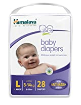 Himalaya Baby Large Size Diapers (28 Count)
