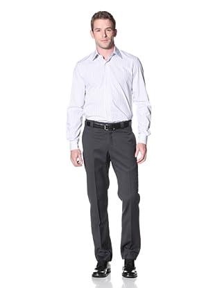 Incotex Ivory Men's Twill Trouser (Charcoal)