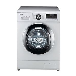 Lg F1296QD23 Washing Machine-White
