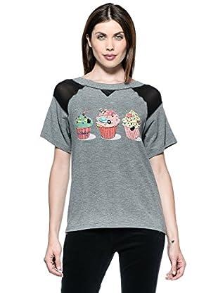 Annarita N Camiseta Corta (Gris)