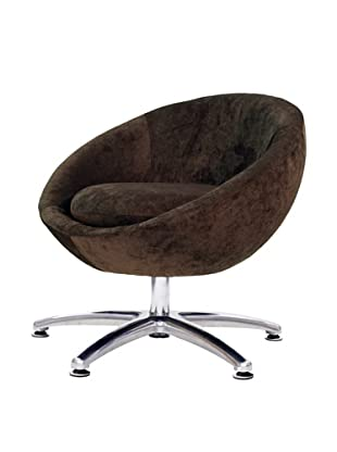 Overman International Five Prong Base Astro Chair, Brown