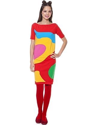 Agatha Ruiz de La Prada Vestido Abstract (Multicolor)