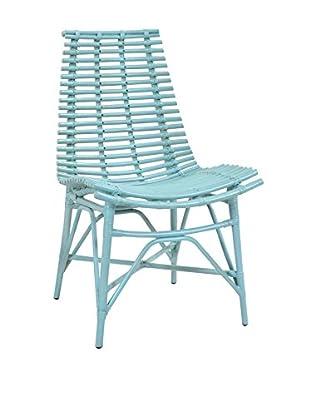 Jeffan Franklin Side Chair, Sky Blue