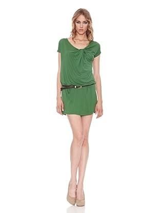 Salsa Vestido Cinturón Tigre (Verde)