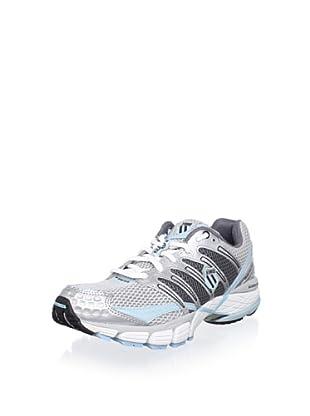 K-Swiss Women's Keahou II NP Running Shoe (Silver/Black/Aquatic)