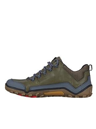 Vivobarefoot Schuhe Trail Off Road Mid (olivgrün)