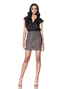 Chloé Women's Mini Skirt (Grey)