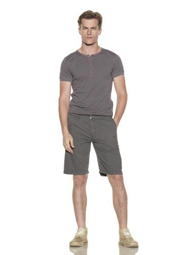 nüco Men's Seersucker Shorts (Gunmetal)