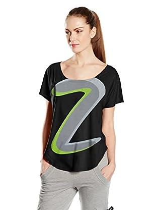 Zumba Camiseta Manga Corta Z Tulip