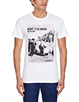adidas Men's Crew Neck Cotton T-Shirt