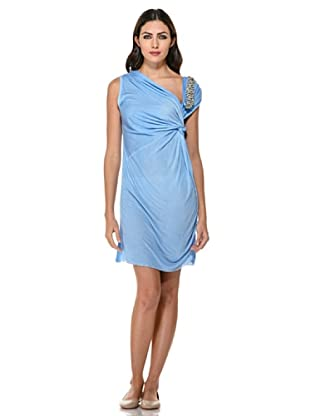 Annarita N Vestido Strass (Azul)