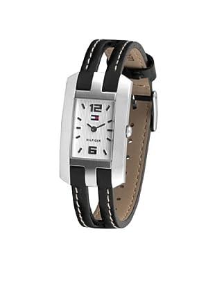 Tommy Hilfiger  1780259C - Reloj de Señora movimiento de quarzo con correa de piel negra