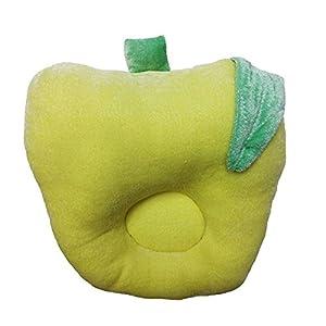 Wonderkids Baby Pillow Apple Shape Yellow