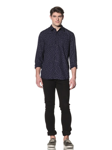 Penny Stock Men's The Penny Shirt (Cattle Brands)