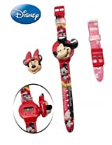 Disney Digital Red Dial Children's Watch - 6500032