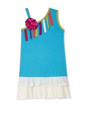 Lilo Girl's Inspired Dress (Blue)