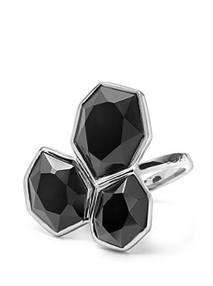 Luxenter 6017751 - Anillo Mti de plata (negro)