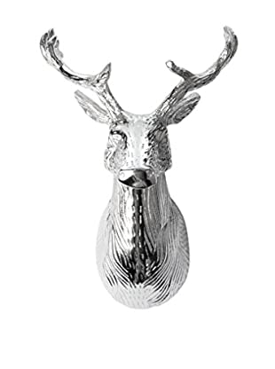 Napa Home and Garden Teton Lodge Doe Trophy, Silver
