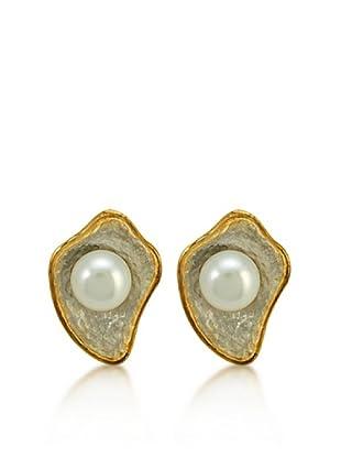Melin Paris Pendientes Perlas Blancas