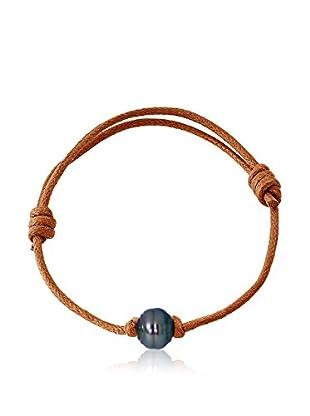 Manufacture Royale des Perles du Pacifique Armband  braun