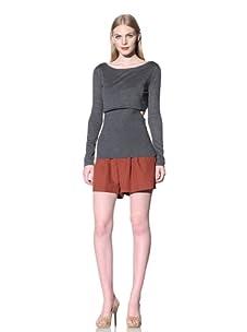 Rebecca Minkoff Women's Jemme Top (Grey)