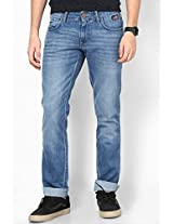 Light Blue Regular Fit Jeans (Rockville)