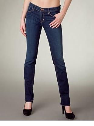 J Brand Jeans 16 Inch Straight (Dunkelblau)