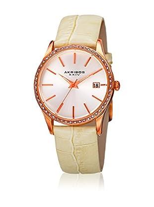 Akribos XXIV Reloj con movimiento cuarzo japonés Woman  34 mm