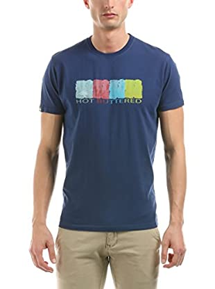 Hot Buttered T-Shirt Manica Corta Water Colors