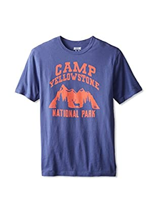 Tailgate Clothing Company Men's Camp Yellowstone Crew Neck T-Shirt