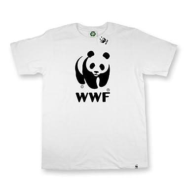 WWF エコTシャツ (L, ネイビー/ホワイト)