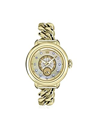 Glam Rock Women's GR77038 Bal Harbour Gold/Mother of Pearl Stainless Steel Watch
