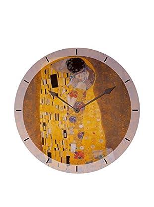 Artopweb Reloj De Pared Klimt The Kiss