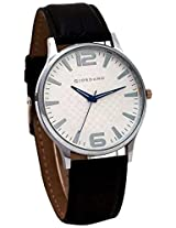Giordano Analog White Dial Men's Watch - P932