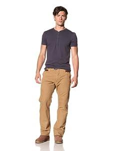 Madison Park Men's Fireman Pants (Desert)