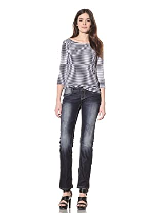 M.O.D Miracle of Denim Women's Alice Skinny Jean (Dark Night)
