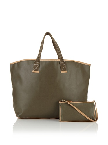 Carina Collection by Clava Women's Large Tote (Army)