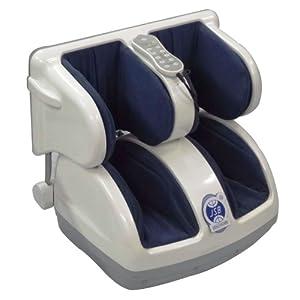 JSB Shiastu HF06 Leg and Foot Massager (White-Blue)