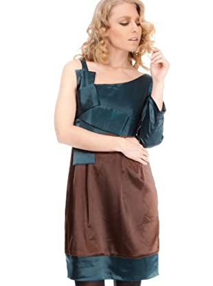 Strena Vestido (Verde / Chocolate)