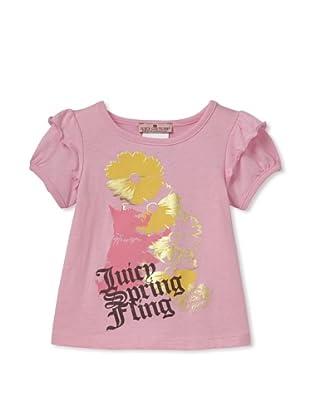 Juicy Baby Spring Fling Tee (Pink)